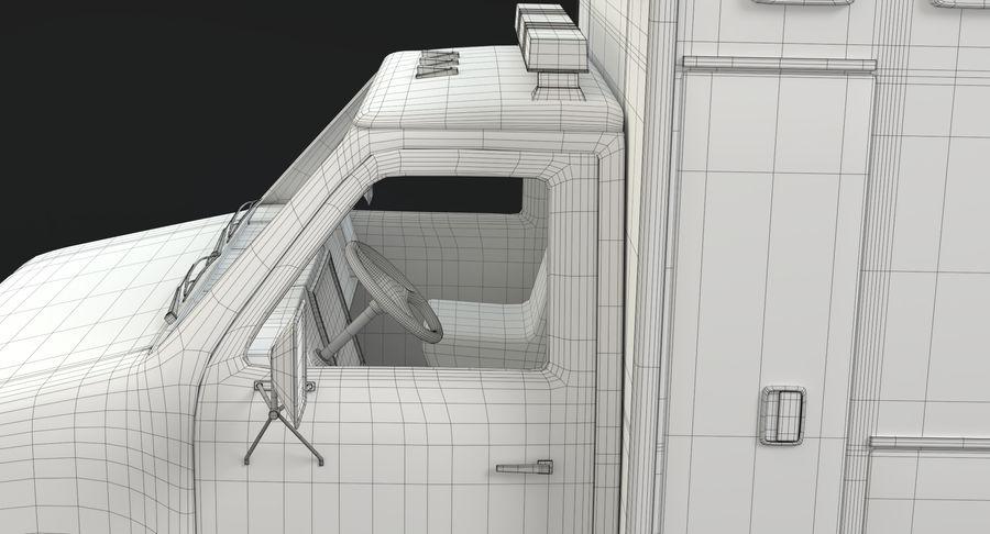 Ambulancia royalty-free modelo 3d - Preview no. 24