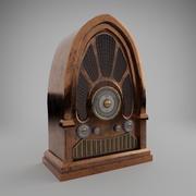 Radio vieja modelo 3d