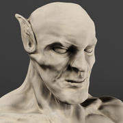 Karanlık Elf 3d model