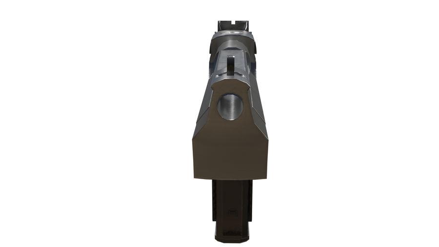 Pistola pistola royalty-free modelo 3d - Preview no. 4