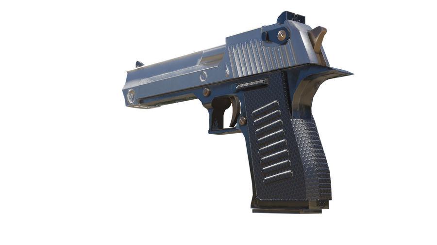 Pistola pistola royalty-free modelo 3d - Preview no. 1