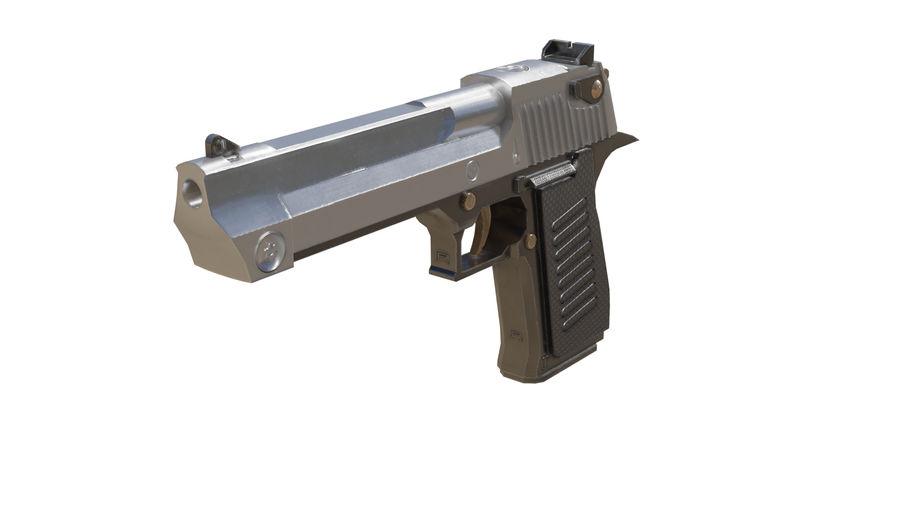 Pistola pistola royalty-free modelo 3d - Preview no. 2