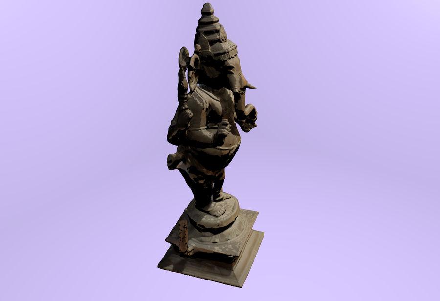 Hindu Hod Lord Ganesha royalty-free 3d model - Preview no. 2