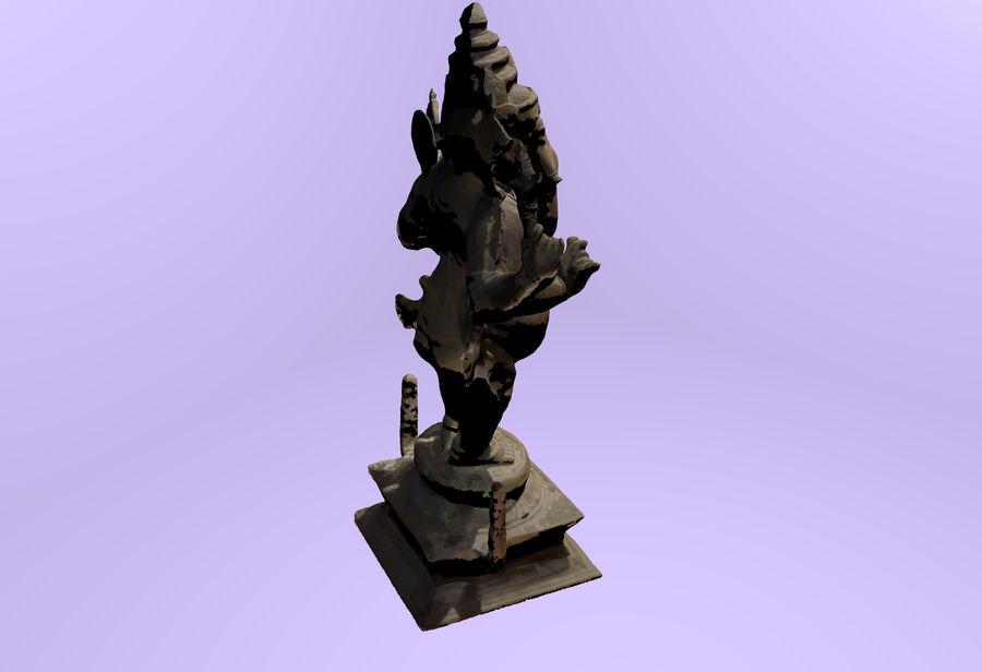 Hindu Hod Lord Ganesha royalty-free 3d model - Preview no. 3