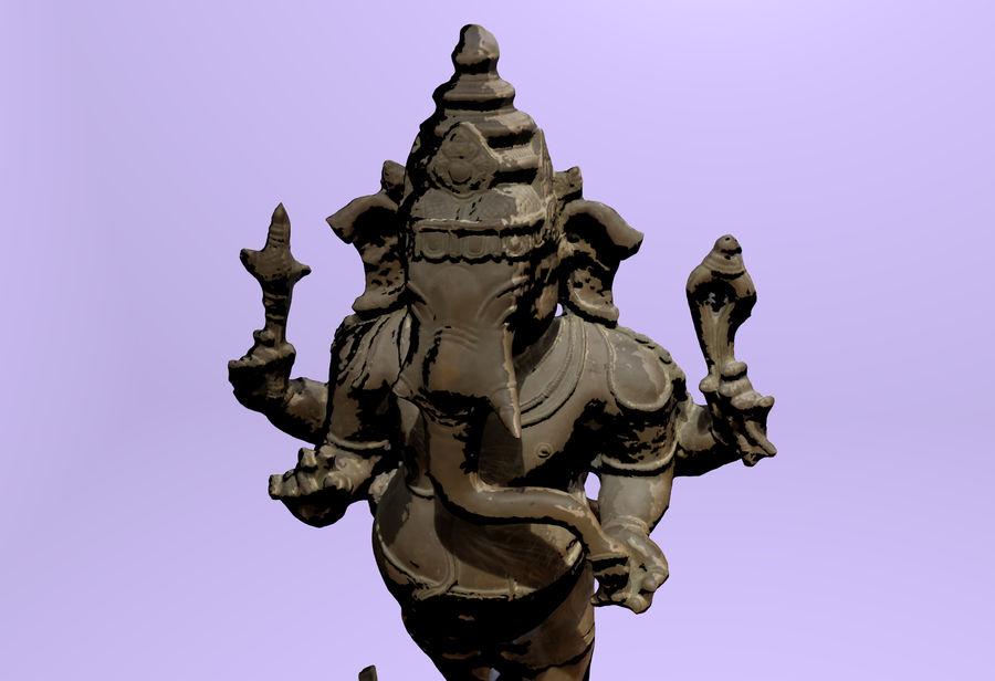 Hindu Hod Lord Ganesha royalty-free 3d model - Preview no. 5