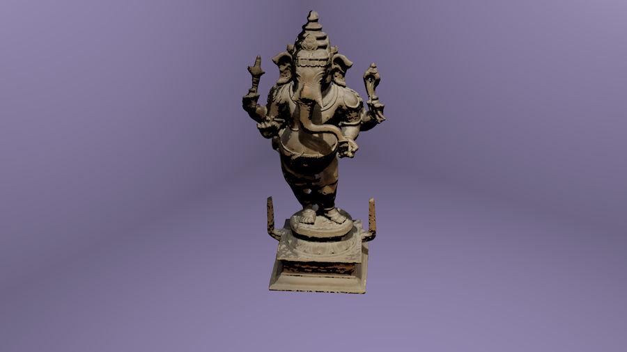Hindu Hod Lord Ganesha royalty-free 3d model - Preview no. 1
