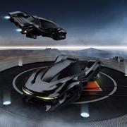 Sci Fi - Coche modelo 3d