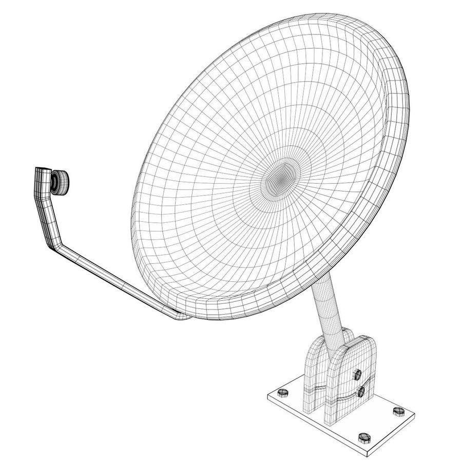 Satellite dish royalty-free 3d model - Preview no. 7