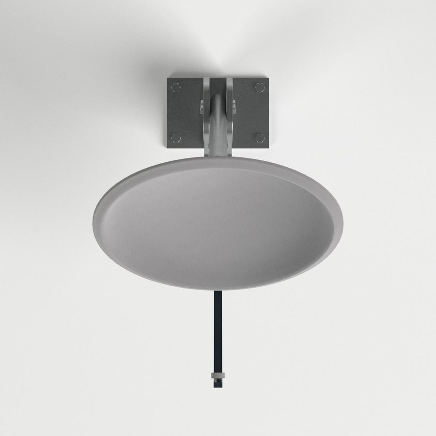 Satellite dish royalty-free 3d model - Preview no. 6