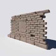 古墙 3d model