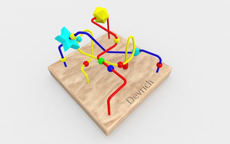Child toy royalty-free 3d model - Preview no. 4