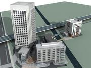 建筑08 3d model
