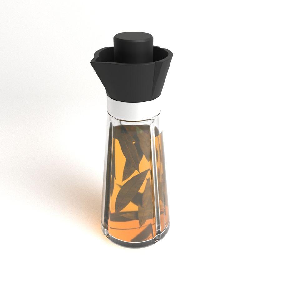 Oil Bottle royalty-free 3d model - Preview no. 4