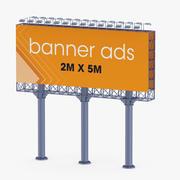 Billboard 2 modelo 3d