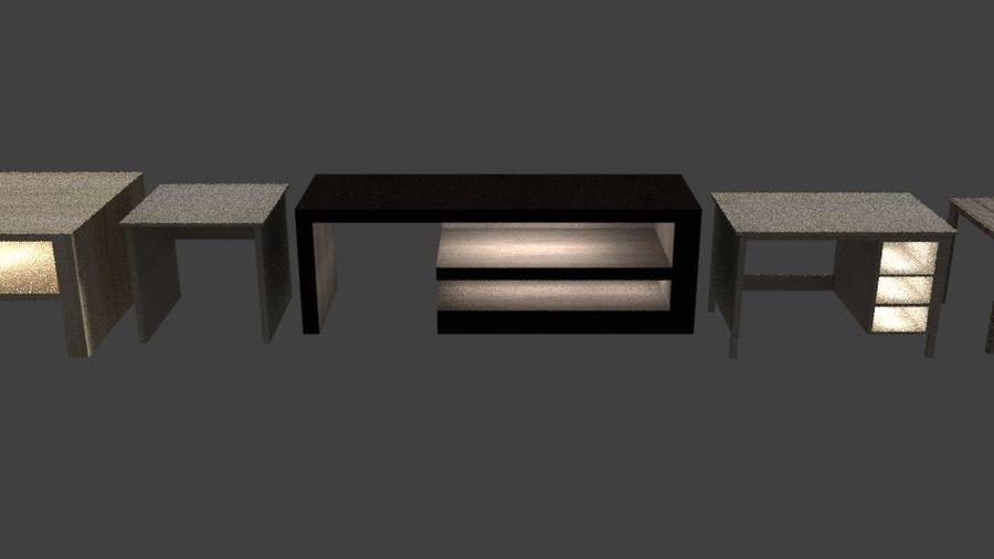 Tafelpakket royalty-free 3d model - Preview no. 7