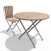 Terrace Furniture 3d model
