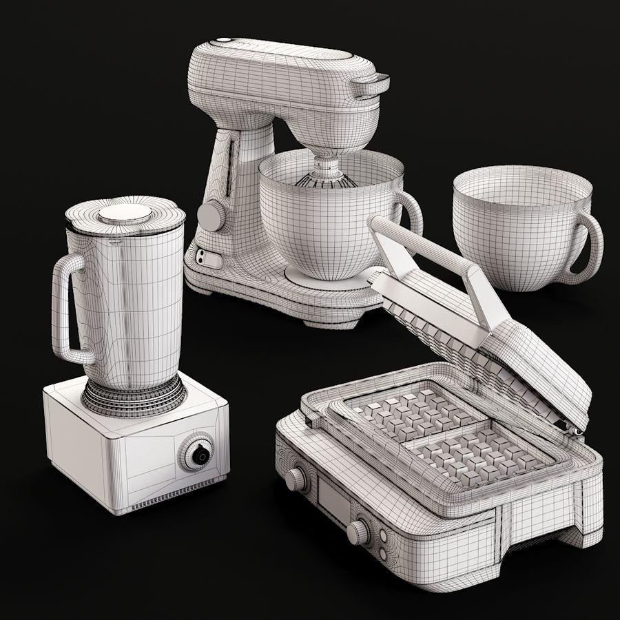 Kitchen Appliances Bork 3d Model 14 Max Free3d