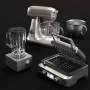sprzęt kuchenny BORK 3d model