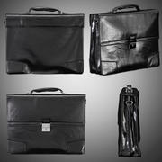 MENS LEATHER BRIEFCASE 3d model