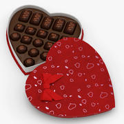 Boîte de bonbons de la Saint-Valentin 3d model