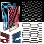 膨胀金属不锈钢2品种 3d model