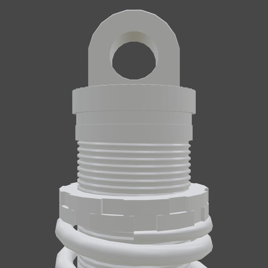 amortiguador royalty-free modelo 3d - Preview no. 11