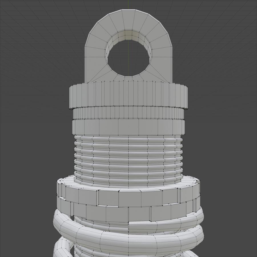 amortiguador royalty-free modelo 3d - Preview no. 17