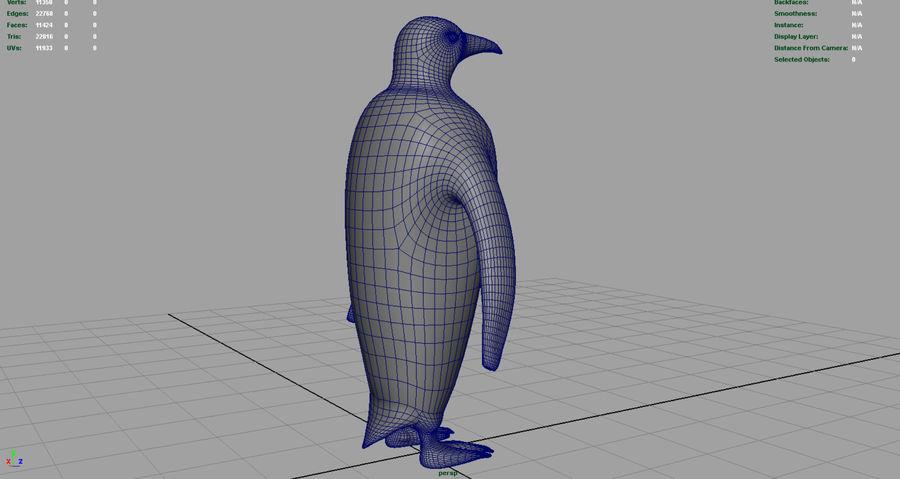 企鹅 royalty-free 3d model - Preview no. 8