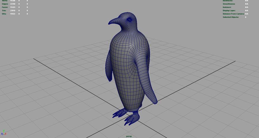 企鹅 royalty-free 3d model - Preview no. 7