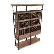 wijnrek 3d model