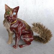 Gato zumbi 3d model