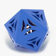 Objeto matemático 0072 3d model