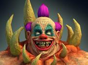 Crab Clown Creature 3d model