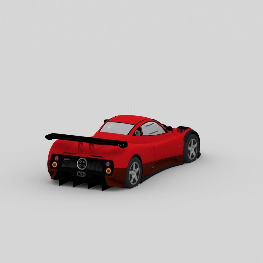car02 royalty-free 3d model - Preview no. 5