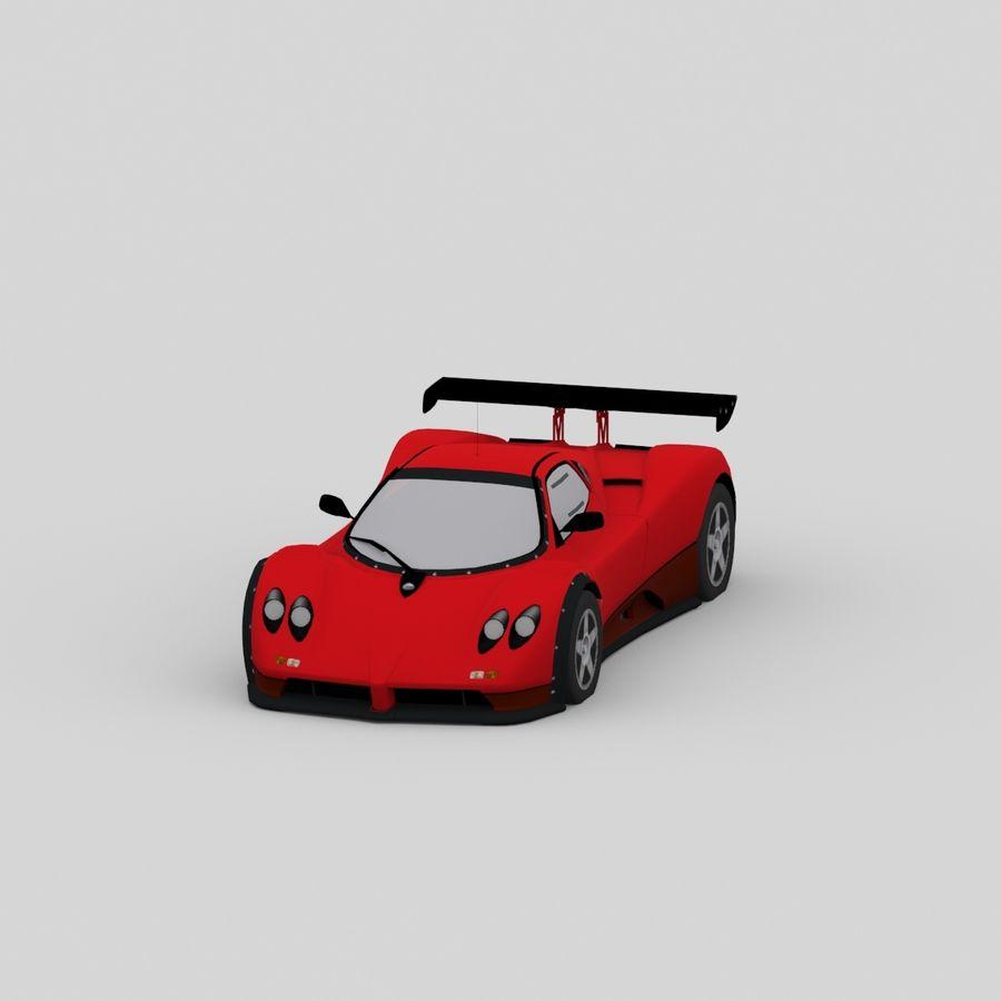 car02 royalty-free 3d model - Preview no. 3