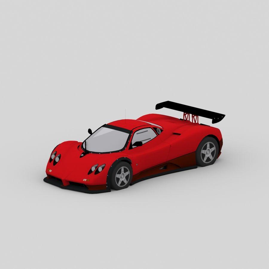 car02 royalty-free 3d model - Preview no. 1