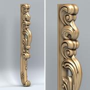 Мебельная ножка 015 3d model