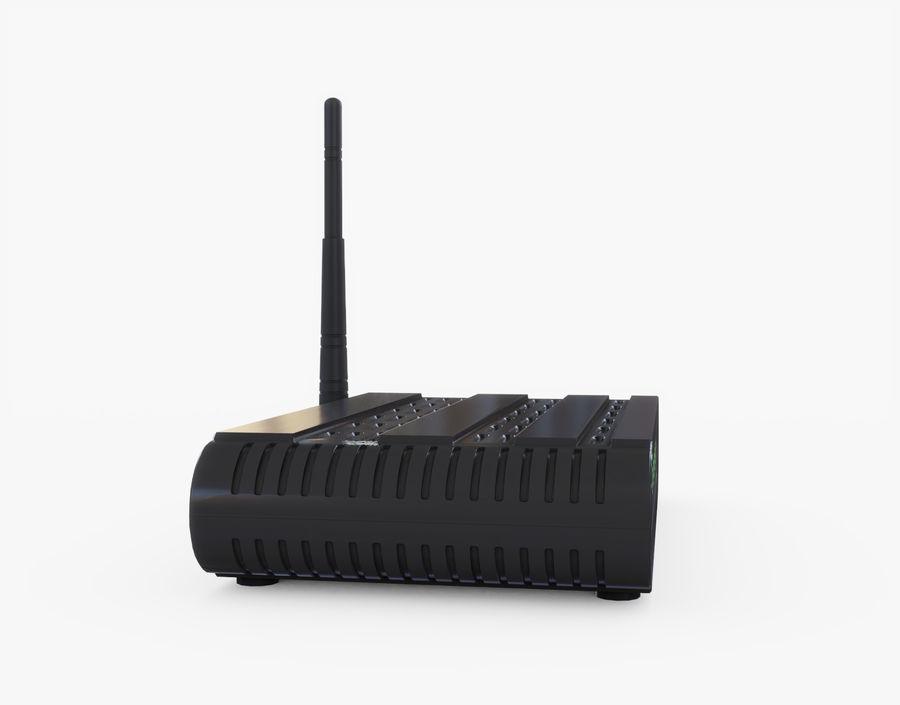 Roteador Wifi Genérico royalty-free 3d model - Preview no. 10