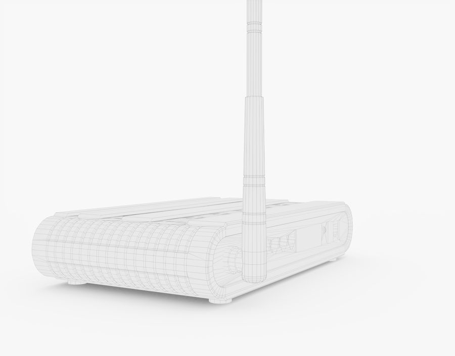 Roteador Wifi Genérico royalty-free 3d model - Preview no. 18