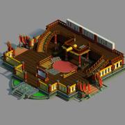 Gang Interior - Advanced Quartermaster Depot 3d model