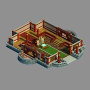 Gang Interior - Advanced Bookstore 3d model