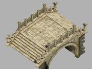 Beijing City - Palace - Stone Bridge 3d model