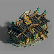 Beijing City - Qianpu 05 3d model
