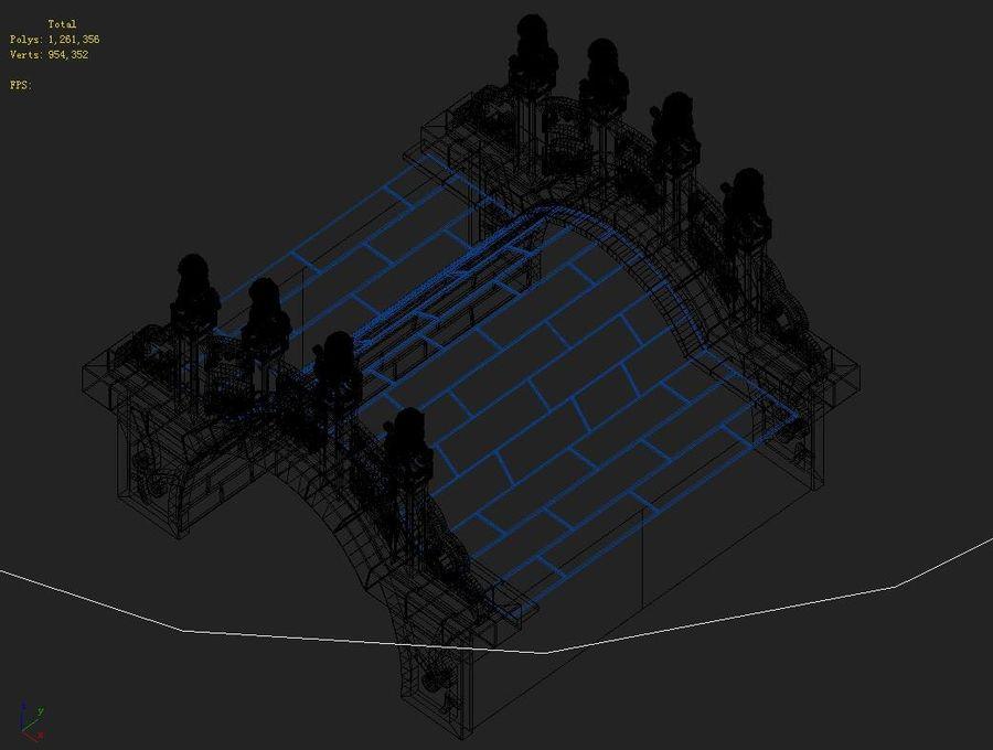 Beijing Architecture - Stone Bridge 31 royalty-free 3d model - Preview no. 5