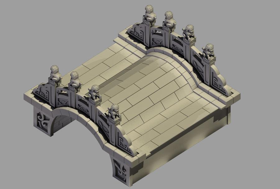 Beijing Architecture - Stone Bridge 31 royalty-free 3d model - Preview no. 1