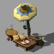 Miasto - Tarasy 3d model