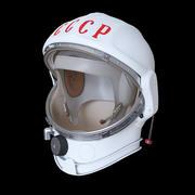 Space helmet USSR 3d model