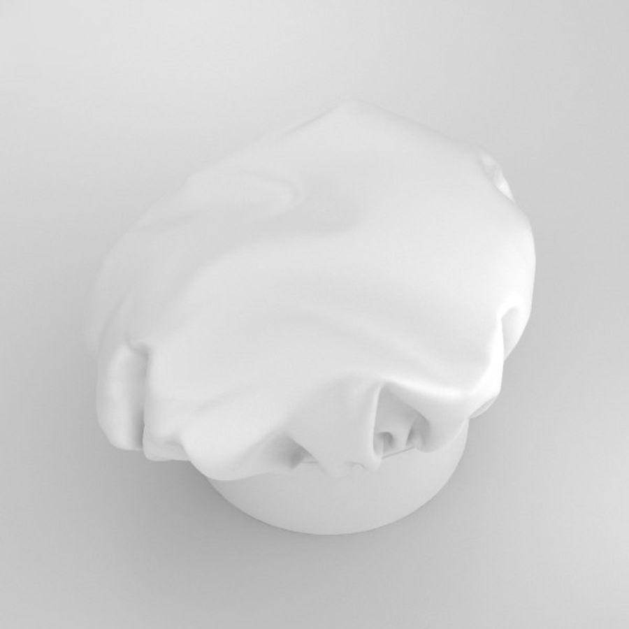 Kochmütze royalty-free 3d model - Preview no. 7