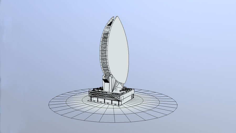 Iris Bay royalty-free 3d model - Preview no. 6
