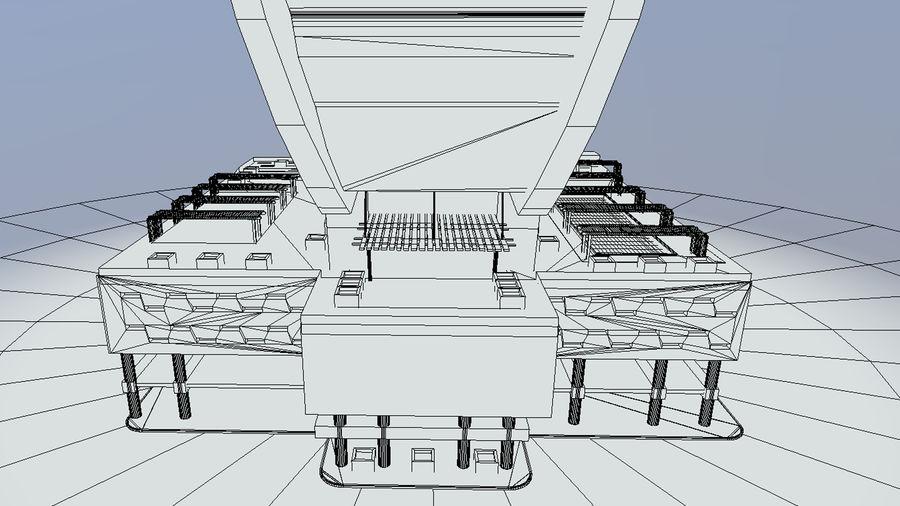 Iris Bay royalty-free 3d model - Preview no. 8
